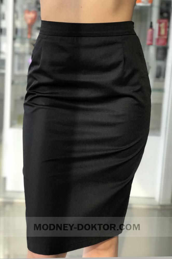 Медицинские юбки черные